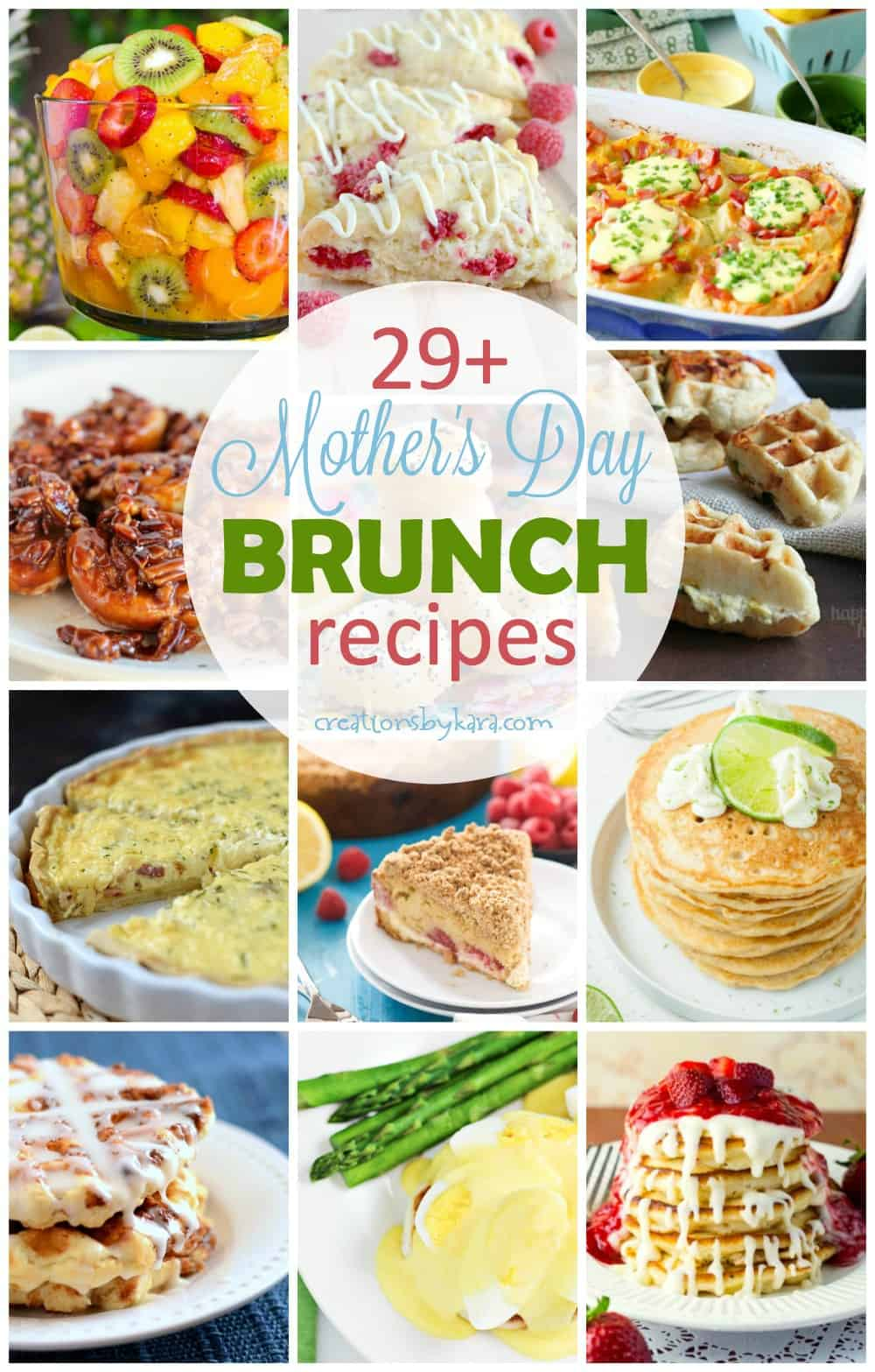 mother 39 s day brunch recipes creations by kara. Black Bedroom Furniture Sets. Home Design Ideas