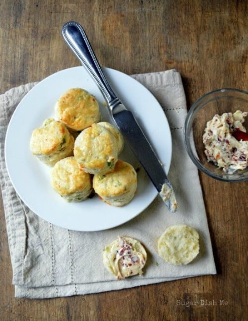 onion and cheddar biscuits