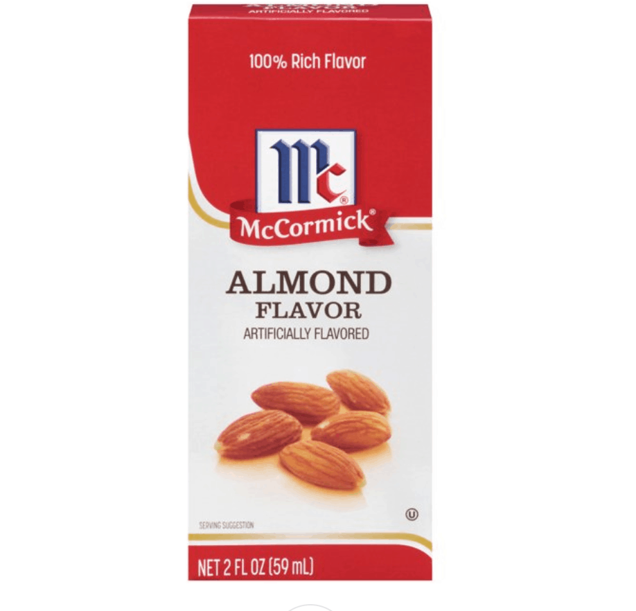(2 Pack) McCormick Imitation Almond Extract, 2 fl oz