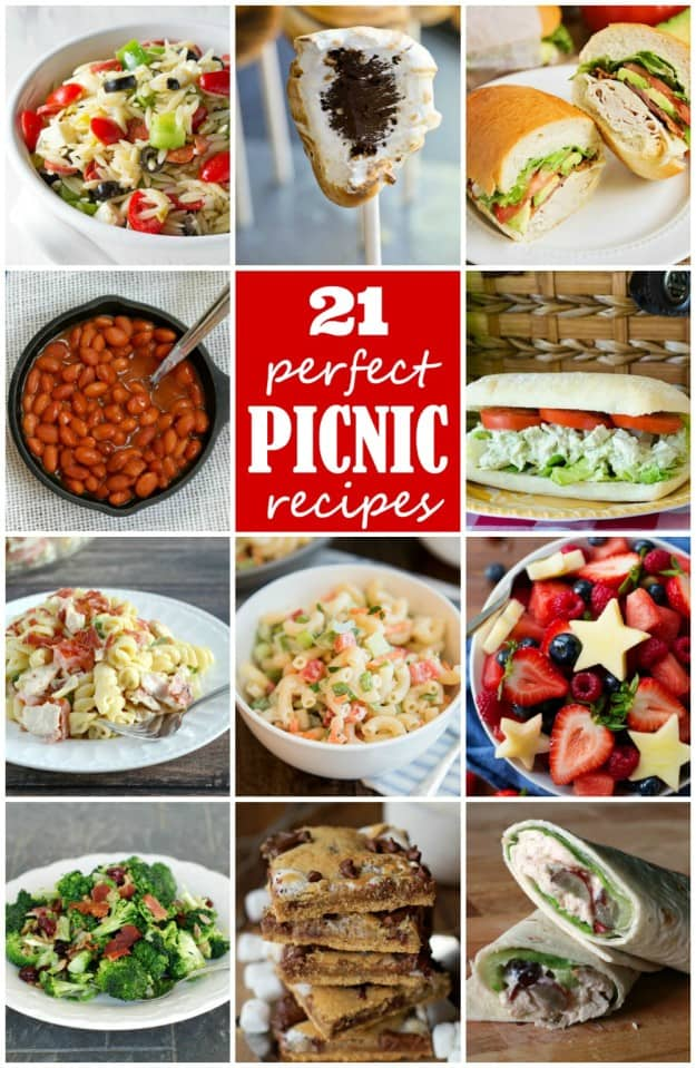 Ranch Pasta Salad and twenty other perfect picnic recipes