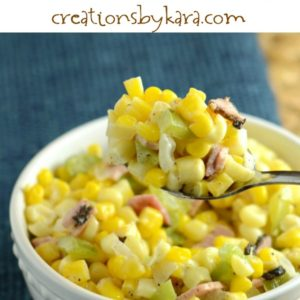 easy skillet fried corn recipe