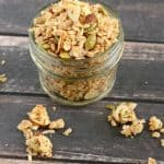 If you love coconut, you need to try this homemade Coconut Granola. It is sooo good!