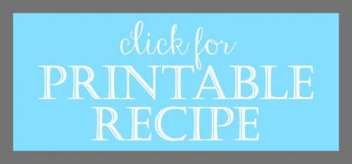 Printable Recipe