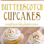 recipe for butterscotch cupcakes