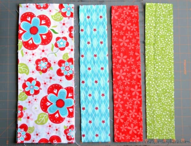 Fabric Strip Denim Jumper Tutorial