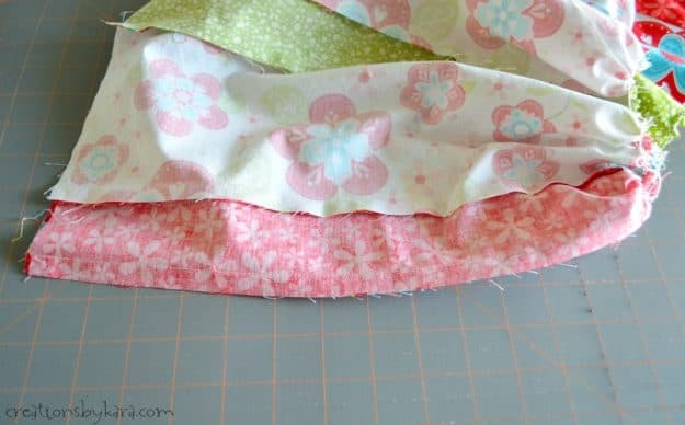 Sewing tutorial for updating an old pair of overalls into a darling dress.