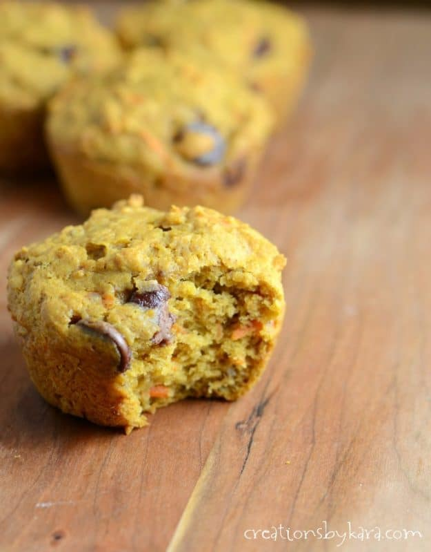 Healthy Pumpkin Muffin recipe. Packed with nutrition, these pumpkin muffins are also tasty!