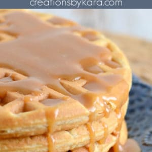 peanut butter waffles pinterest pin