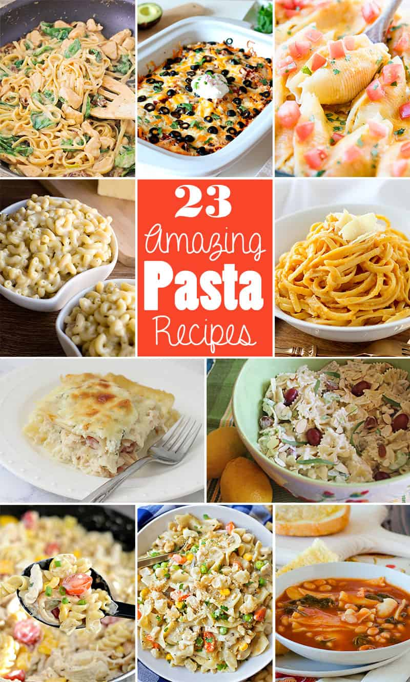 23 Mouthwatering Pasta Recipes