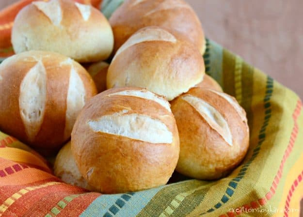 These soft pretzel rolls are absolutely incredible!