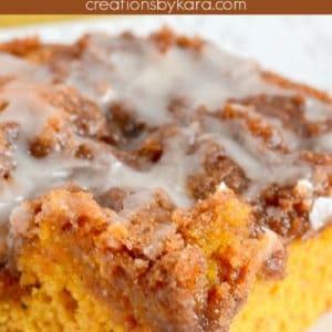 easy pumpkin cinnamon roll cake pinterest pin