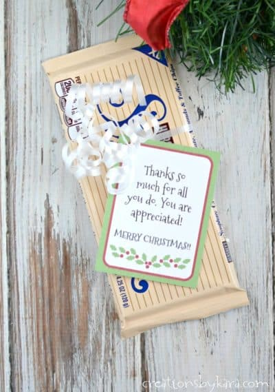 Show appreciation this Christmas with these fun gift tags. Make the world a brighter place!