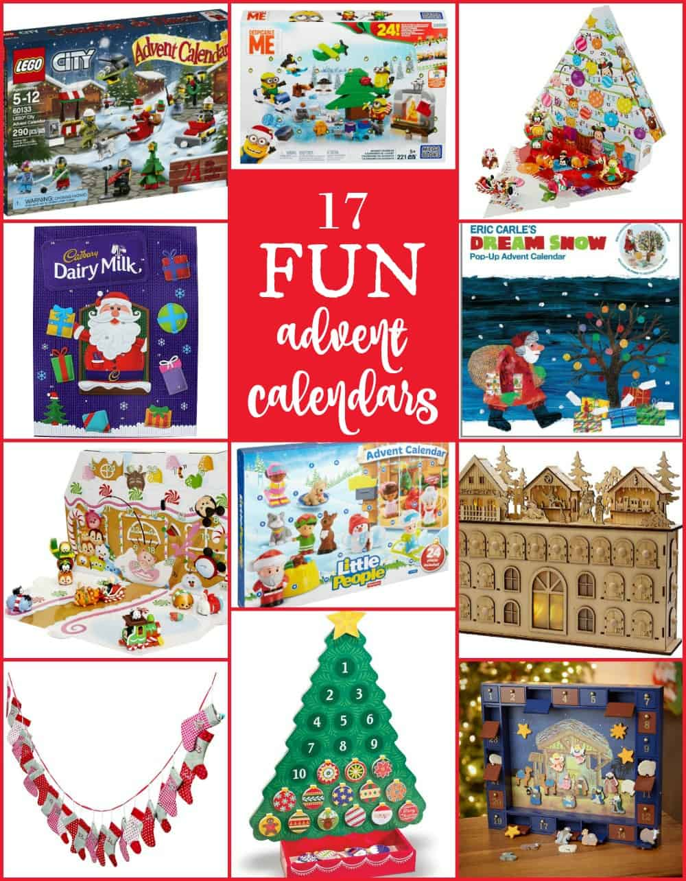 fabulous advent calendars for christmas