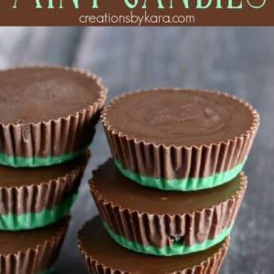 oreo chocolate mint candies pinterest pin