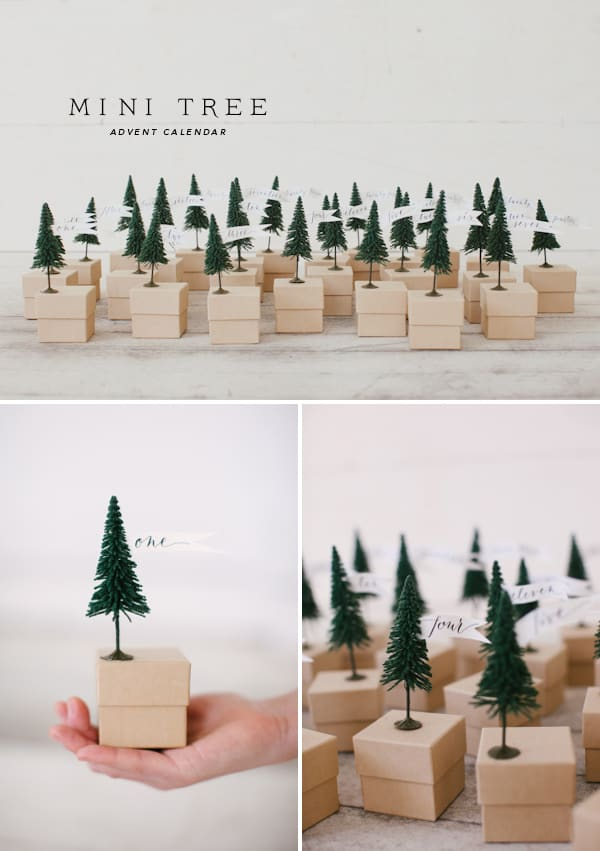 tree box DIY advent