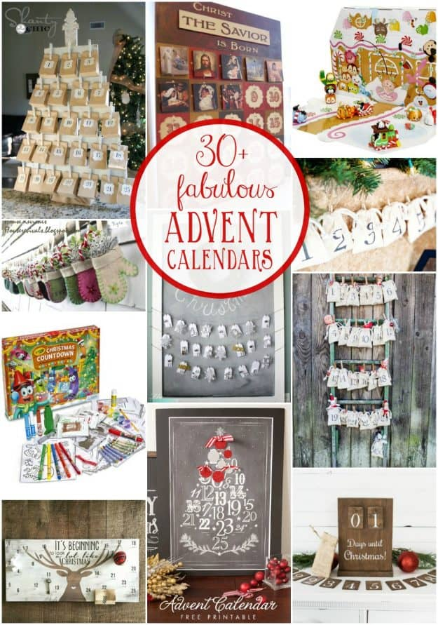 Fabulous advent calendars to help children count down to Christmas. Such a fun Christmas tradition!
