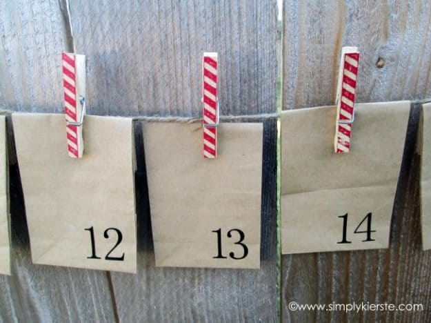 paper sack advent