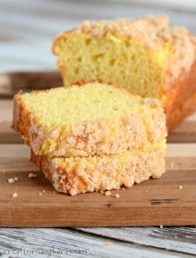 eggnog quick bread