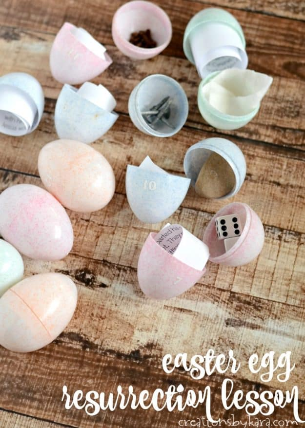 Easter Egg Resurrection Lesson - Christ centered Easter idea - Help kids understand the true meaning of Easter with this Easter lesson.