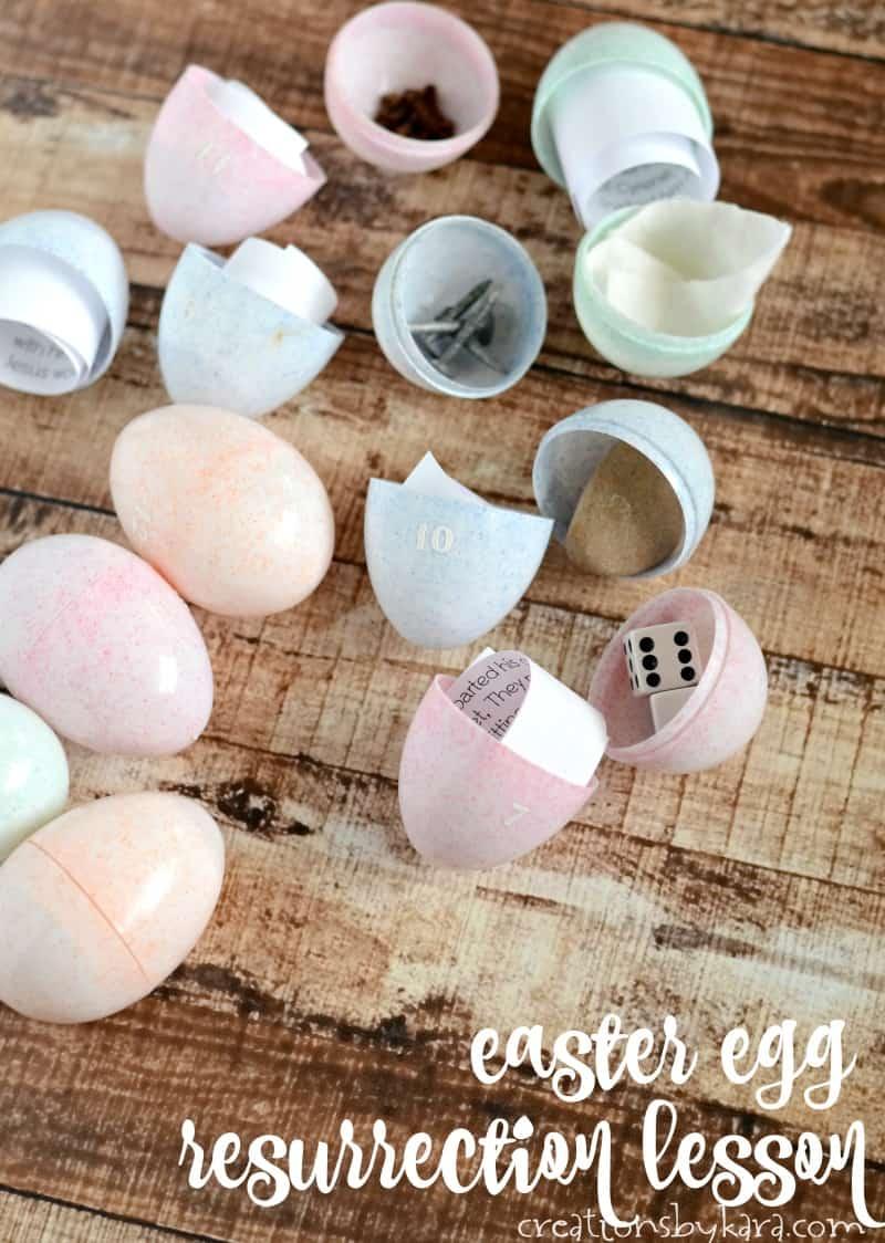 Easter Egg Resurrection Lesson He Is Risen Printable