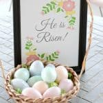 Easter Egg Resurrection Lesson – He Is Risen Printable