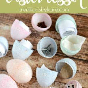 resurrection eggs easter printable pinterest pin
