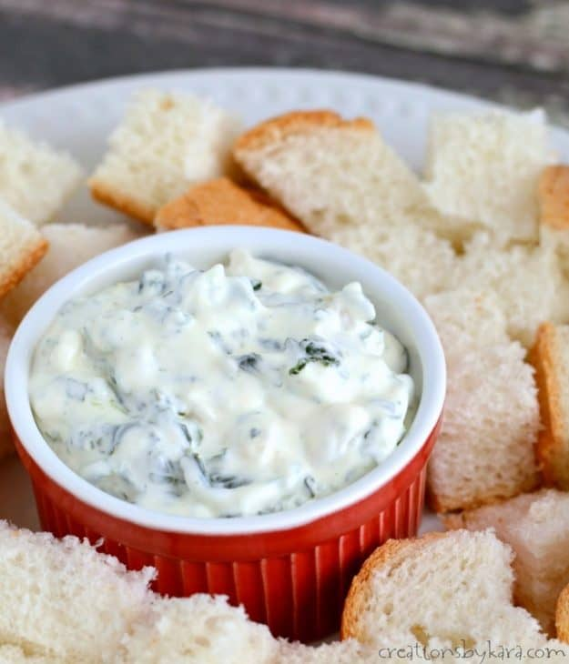 In just a few minutes, you can have an absolutely scrumptious spinach dip. Everyone loves this dip recipe!