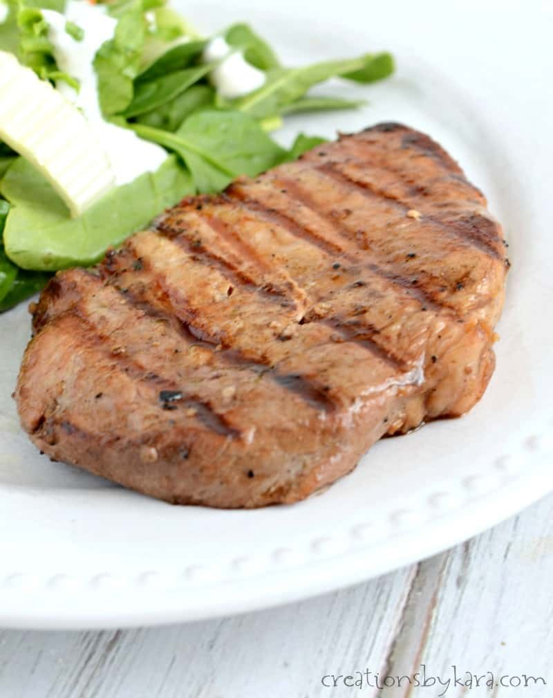 This Simple Marinade Makes The Tastiest Grilled Pork Chops My Whole Family Raves About Them