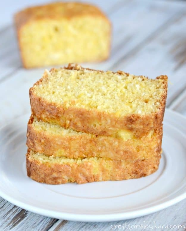 Love the flavor of pina coladas? Give this Hawaiian bread a try!