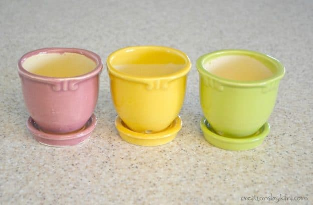 How to make farmhouse style flower pots with chalk paint