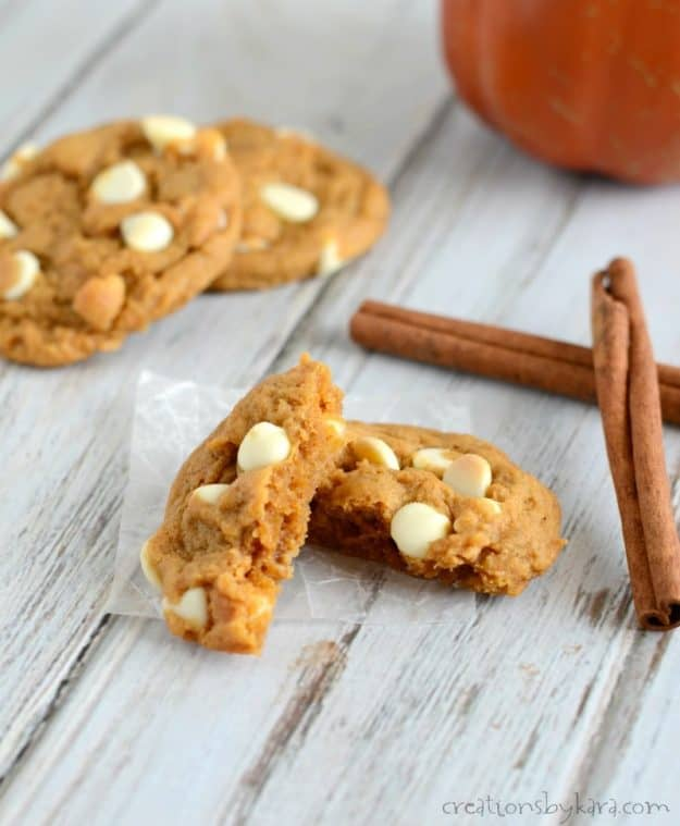Everyone raves about these pumpkin spice cookies. They are easy to make, and turn out perfect every time!