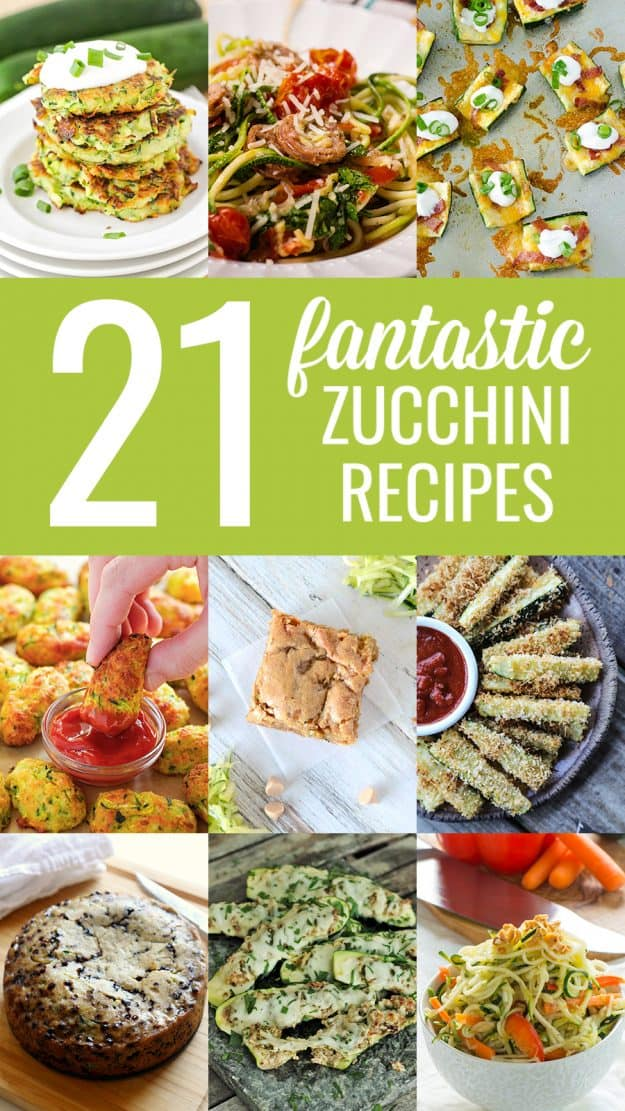recipes with zucchini