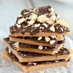Everyone loves this homemade English toffee!