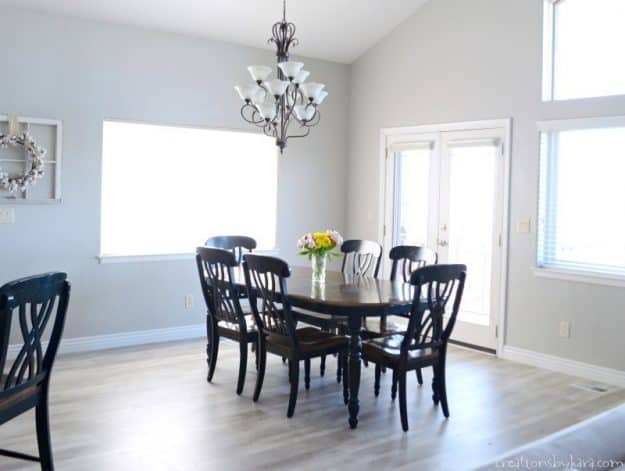 Sherwin Williams Repose Gray Emerald Paint - a perfect gray paint.