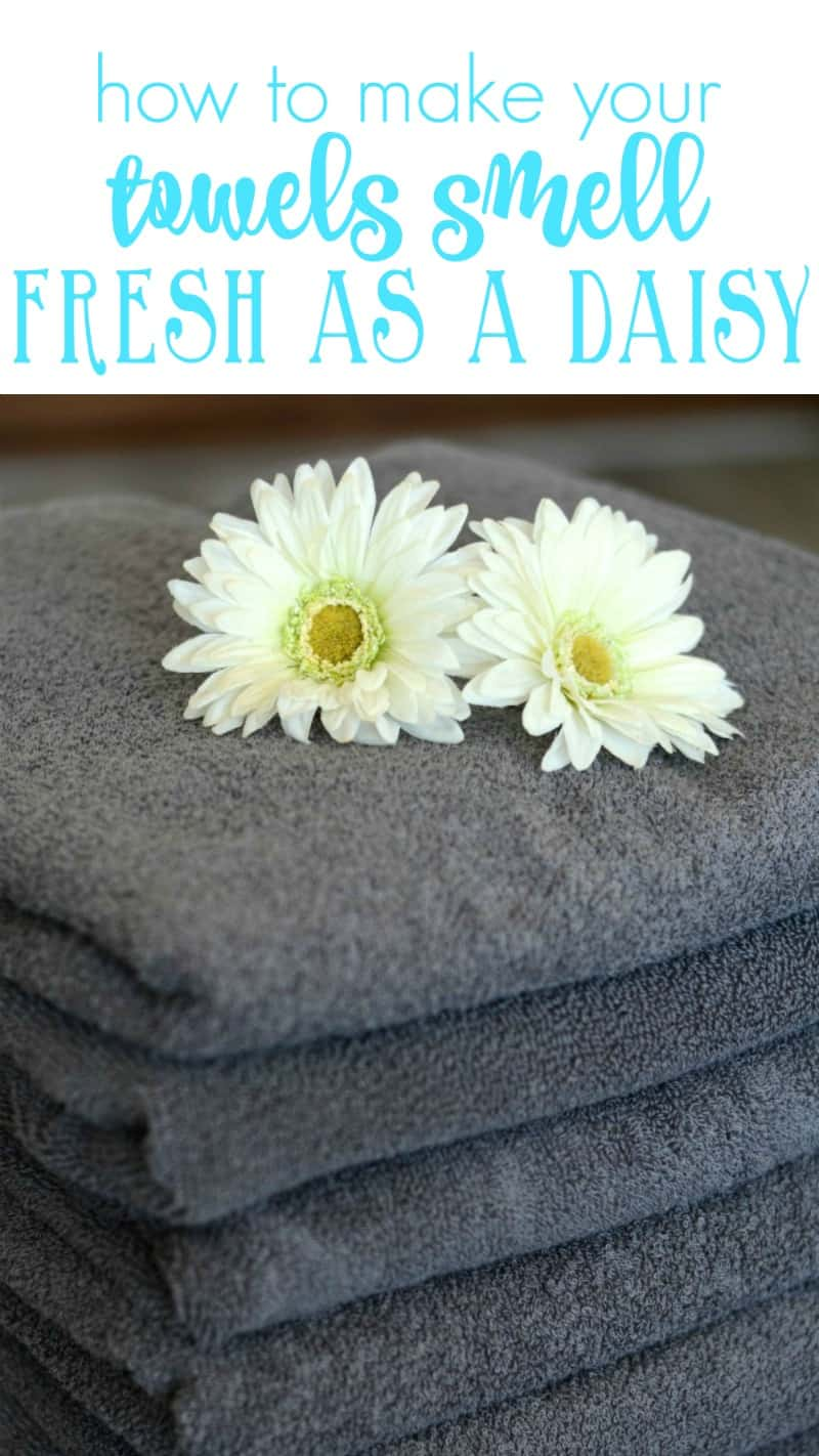 How to make your towels smell fresh naturally with EnviroKlenz laundry enhancer. No more sour towels!