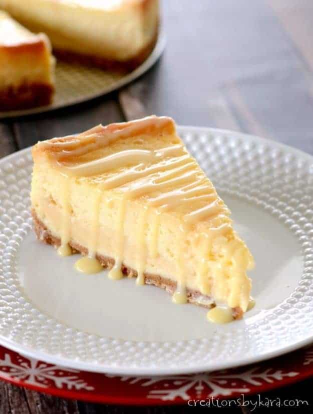 Layers of caramel make this dulce de leche cheesecake extra sweet and creamy.