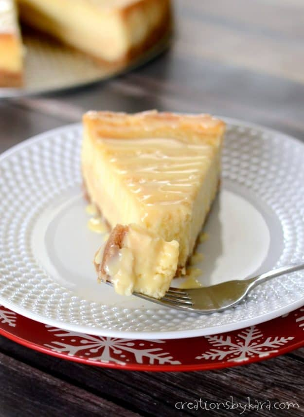 How to make dulce de leche cheesecake