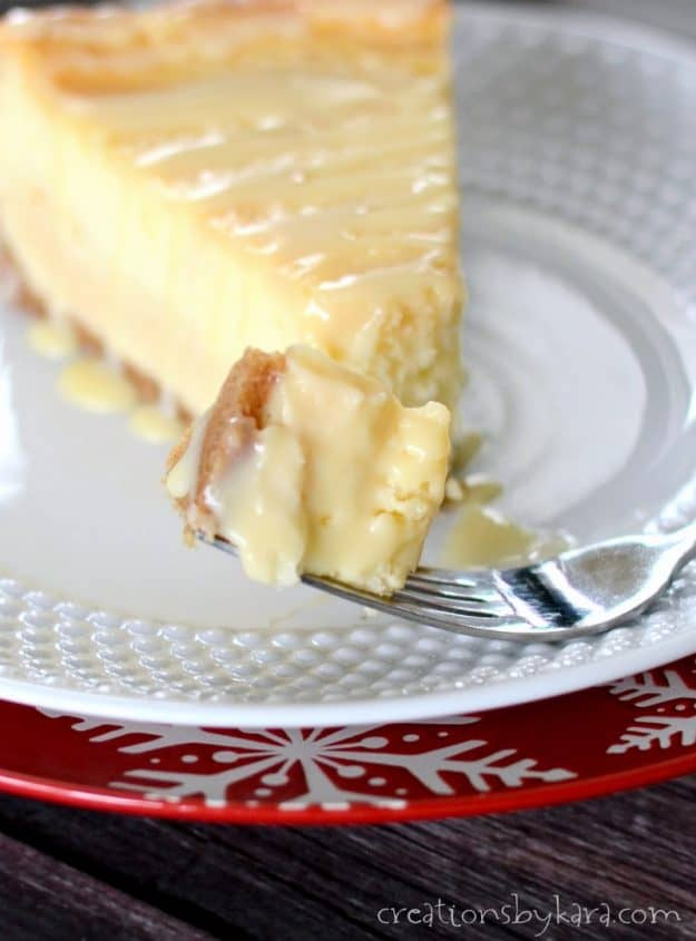 Seriously amazing dulce de leche cheesecake recipe