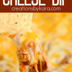easy chili cheese dip recipe collage