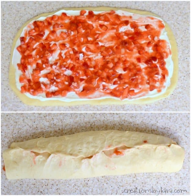 How to make overnight strawberry rolls
