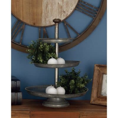 three tiered serving stand