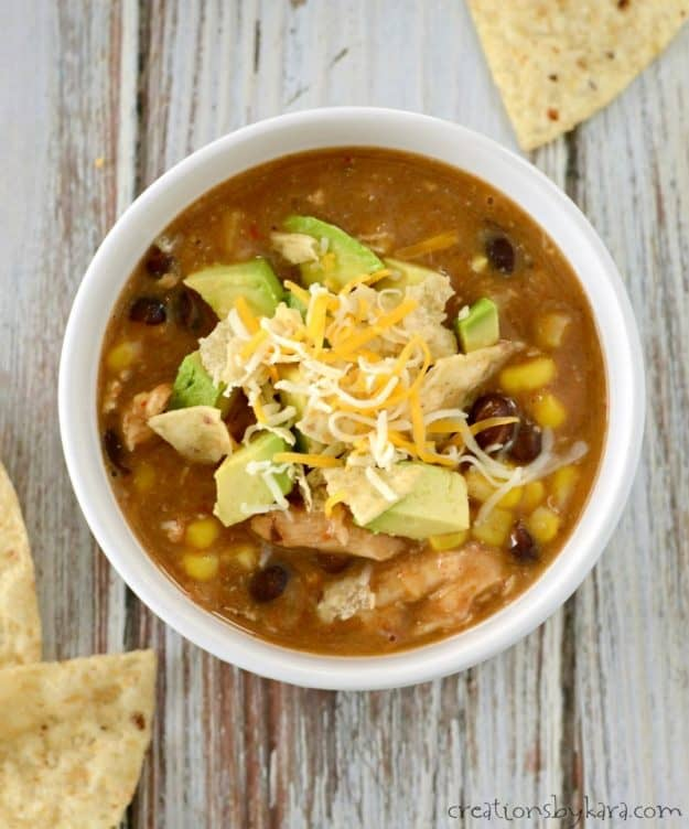 Easy and delicious chicken enchilada chili recipe
