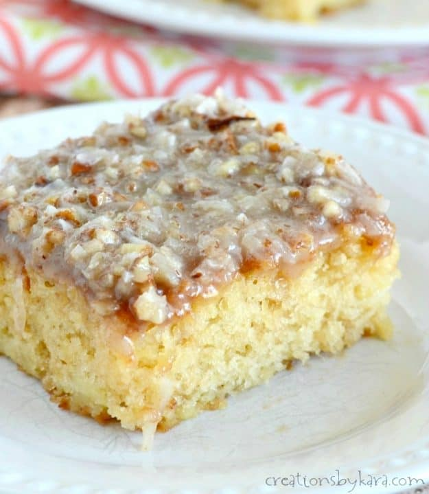 "This pineapple cake is so easy, it is sometimes called ""do nothing cake""."