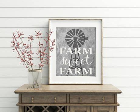 printable farmhouse sign