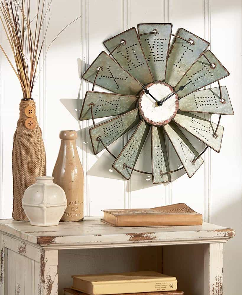 Home Decor: Farmhouse Style Galvanized Decor