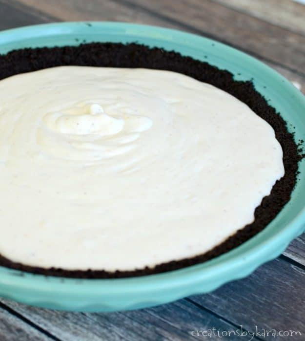 creamy filling for butterfinger pie