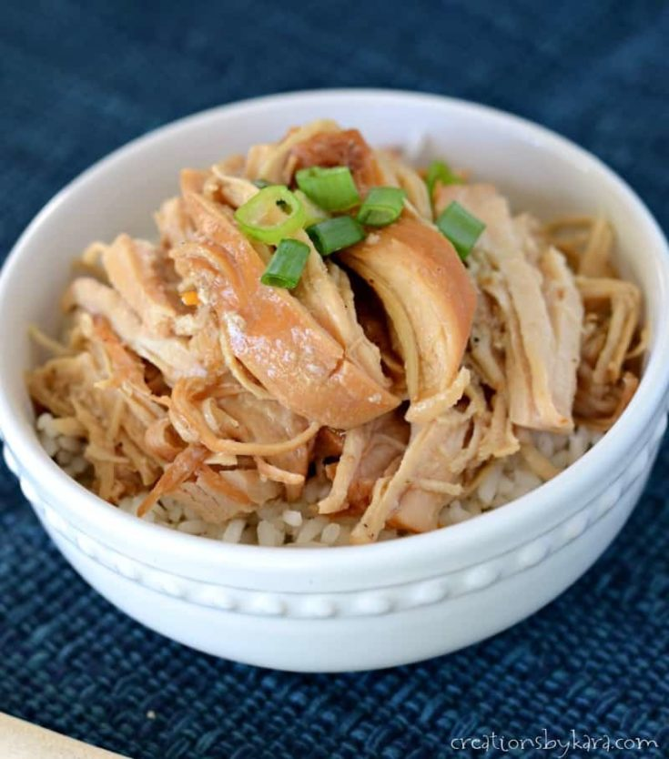 Sweet and spicy chicken in the instant pot
