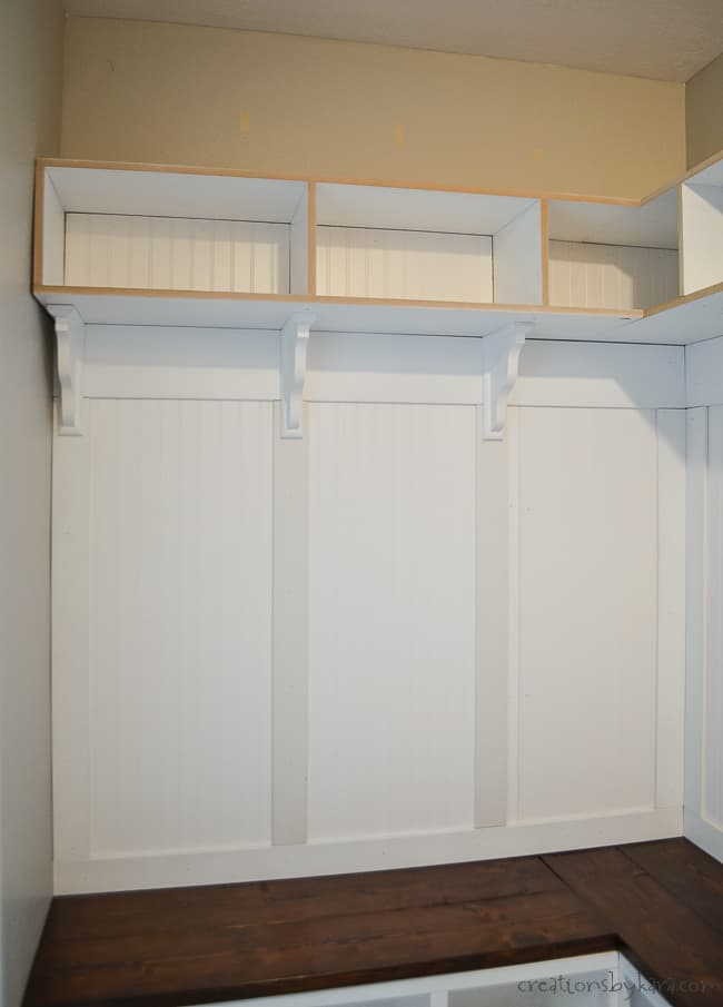 Surprising Corner Mudroom Bench With Cubbies And Shelves Creations By Ibusinesslaw Wood Chair Design Ideas Ibusinesslaworg