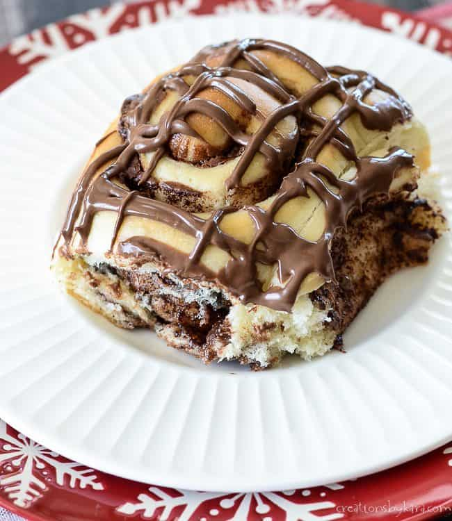 Recipe for decadent Nutella Rolls