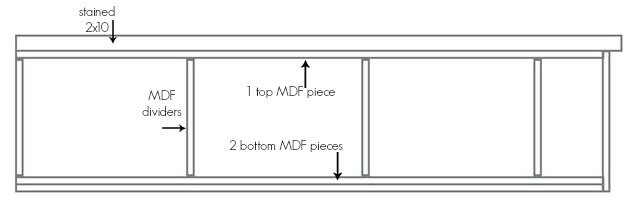 mudroom corner bench sketch